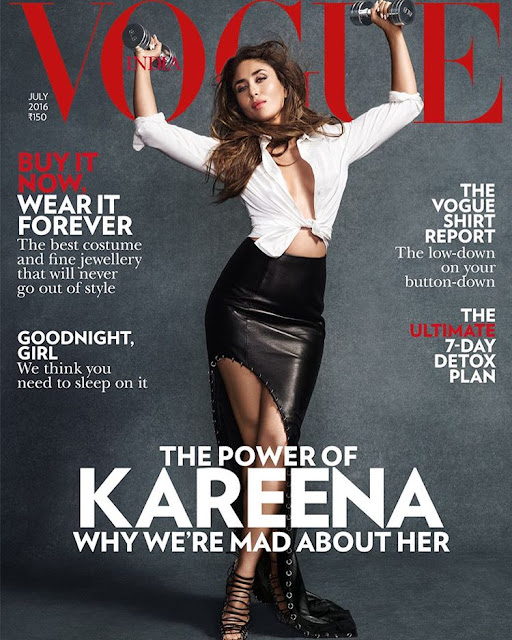 Actress, @ Kareena Kapoor Vogue India July 2016
