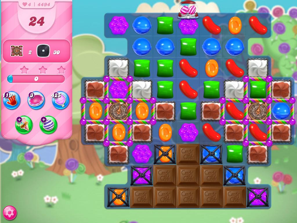 Candy Crush Saga level 4494