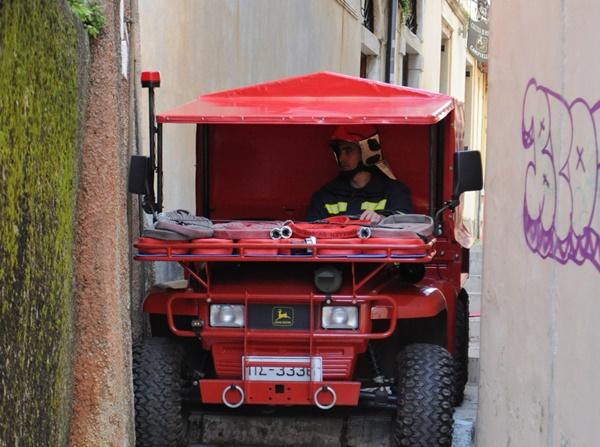 John Deree 6×4: Αυτό το πυροσβεστικό όχημα χρειάζεται για την παλιά πόλη του Ναυπλίου (βίντεο)
