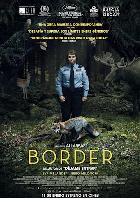 BORDER - pelicula - Poster España