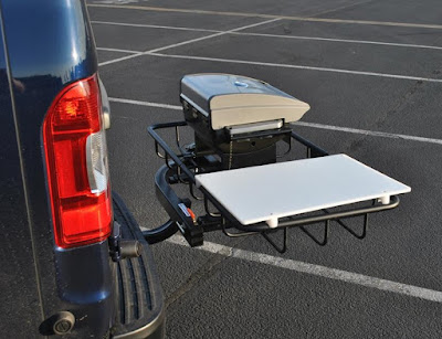 Stowaway Hitch Grill Station