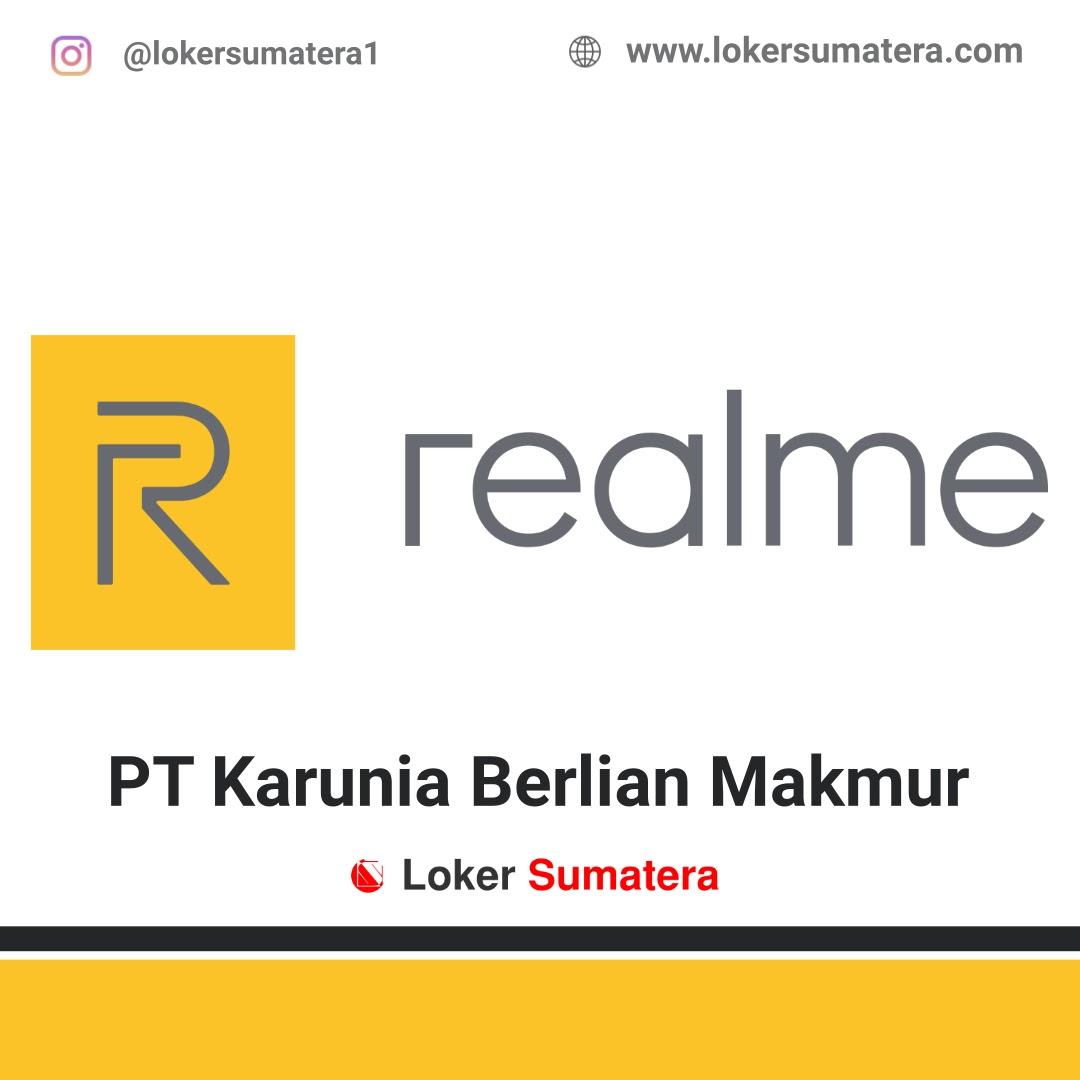 Lowongan Kerja Padang: PT Karunia Berlian Makmur (Realme) September 2020