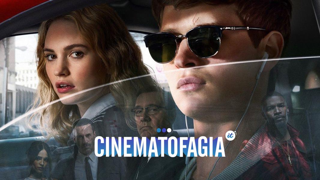 """Com uma trilha sonora de cair o queixo e montagem digna de Oscar, """"Baby Driver"""" não consegue esconder seus personagens profundos como pires"""