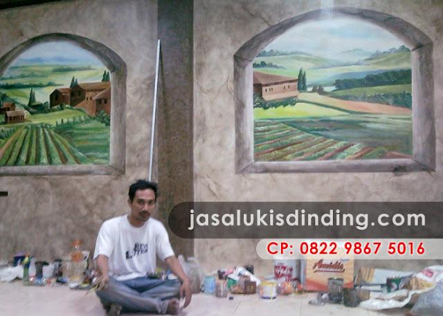 Lukisan mural alam sekitar