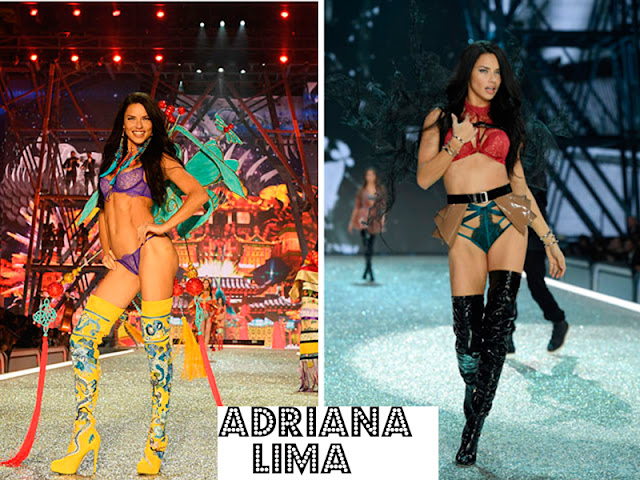Confira os looks do desfile da Victoria´s Secret