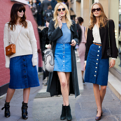 what s the trend denim skirts frugal shopaholics a