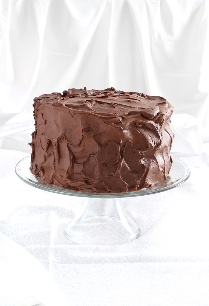 Hot Cocoa Layer Cake