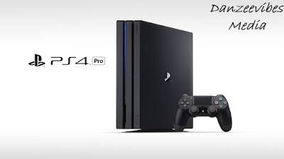 ps4 pro console and pad
