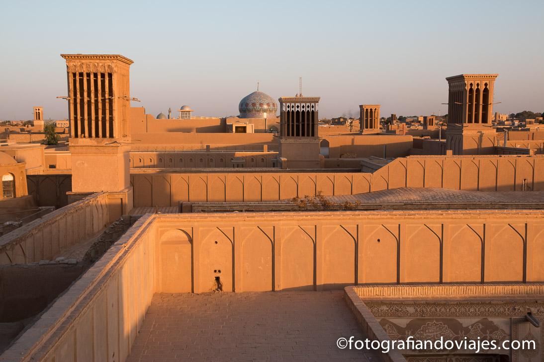 Atardecer en Yazd