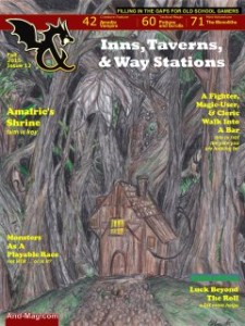 And Magazine Issue 12, a free resource for AD&D and OSR RPGs