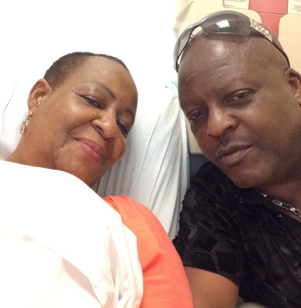 shina peters abandons wife