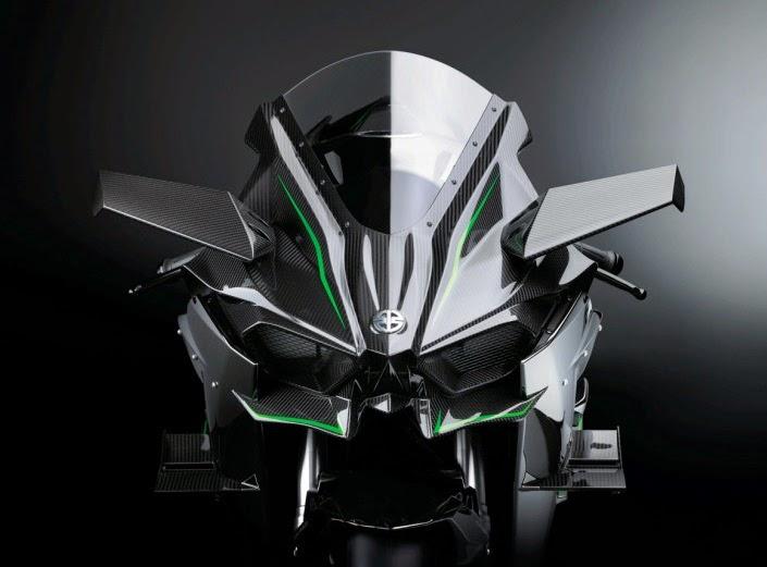 Kawasaki Nnja H2R headlamp