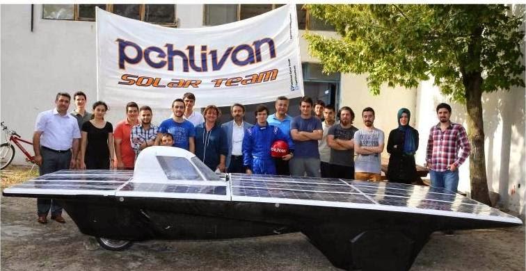 Trakya Üniversitesi'nin pehlivan adlı otomobili