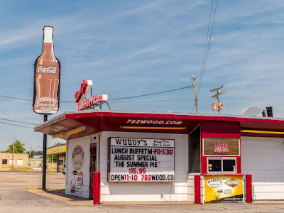 Route 66 Missouri - Woodys Diner_by_Laurence Norah