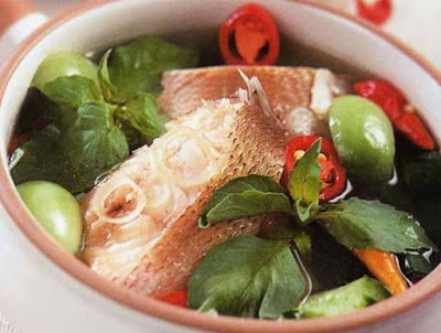 Sup Kuah Bening Ikan Kakap