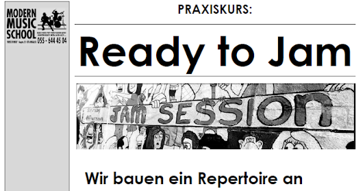 Praxiskurs: Ready to Jam