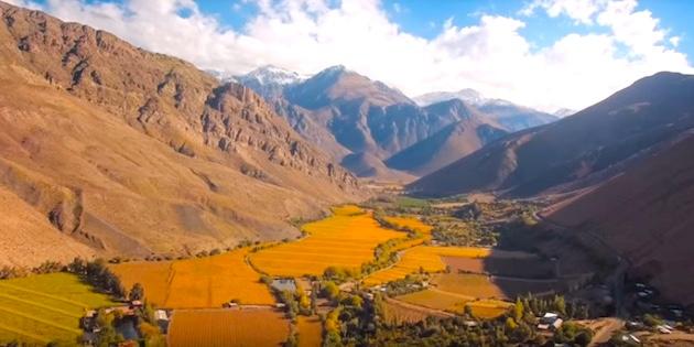 Vista panorámica del Valle del Elqui