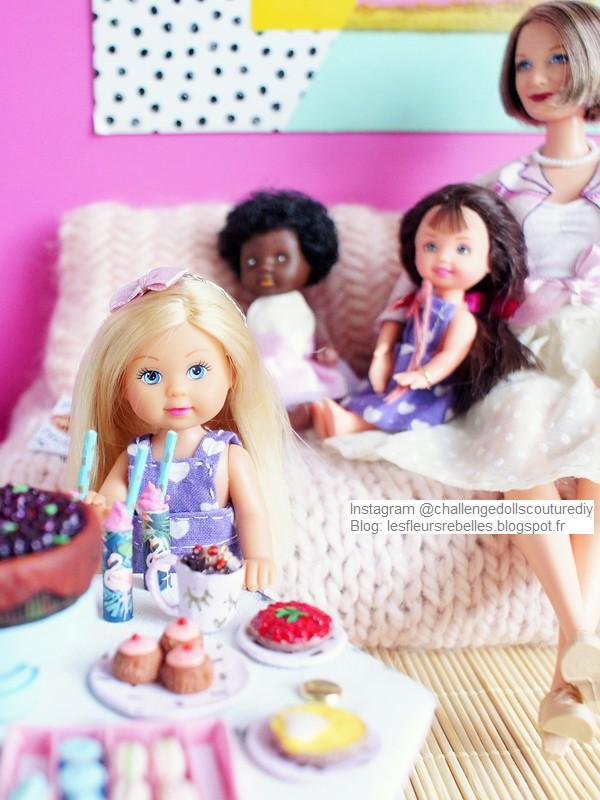 Petites poupées Evi Love de Simba et Shelly Mattel