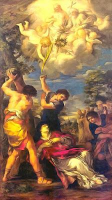 Imagem do Martírio de Santo Estevão, pintura, #1