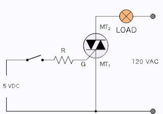 Electronics projects and tutorials: Switching AC loads