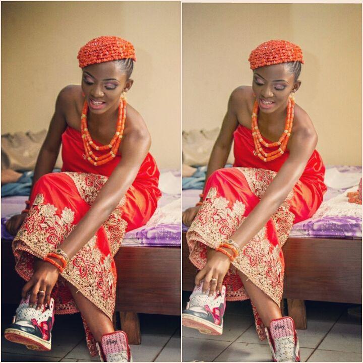 Image result for ivie okujaye wedding