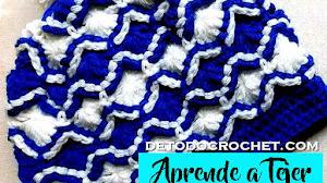Gorro Crochet Punto Bavarian / Aprende a tejer