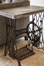 Duffle Family Concrete End Tables