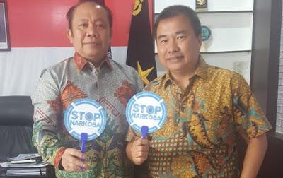 Ketua SMSI Lampung Ajak BNN Lakukan Gerakan Masif Berantas Narkoba