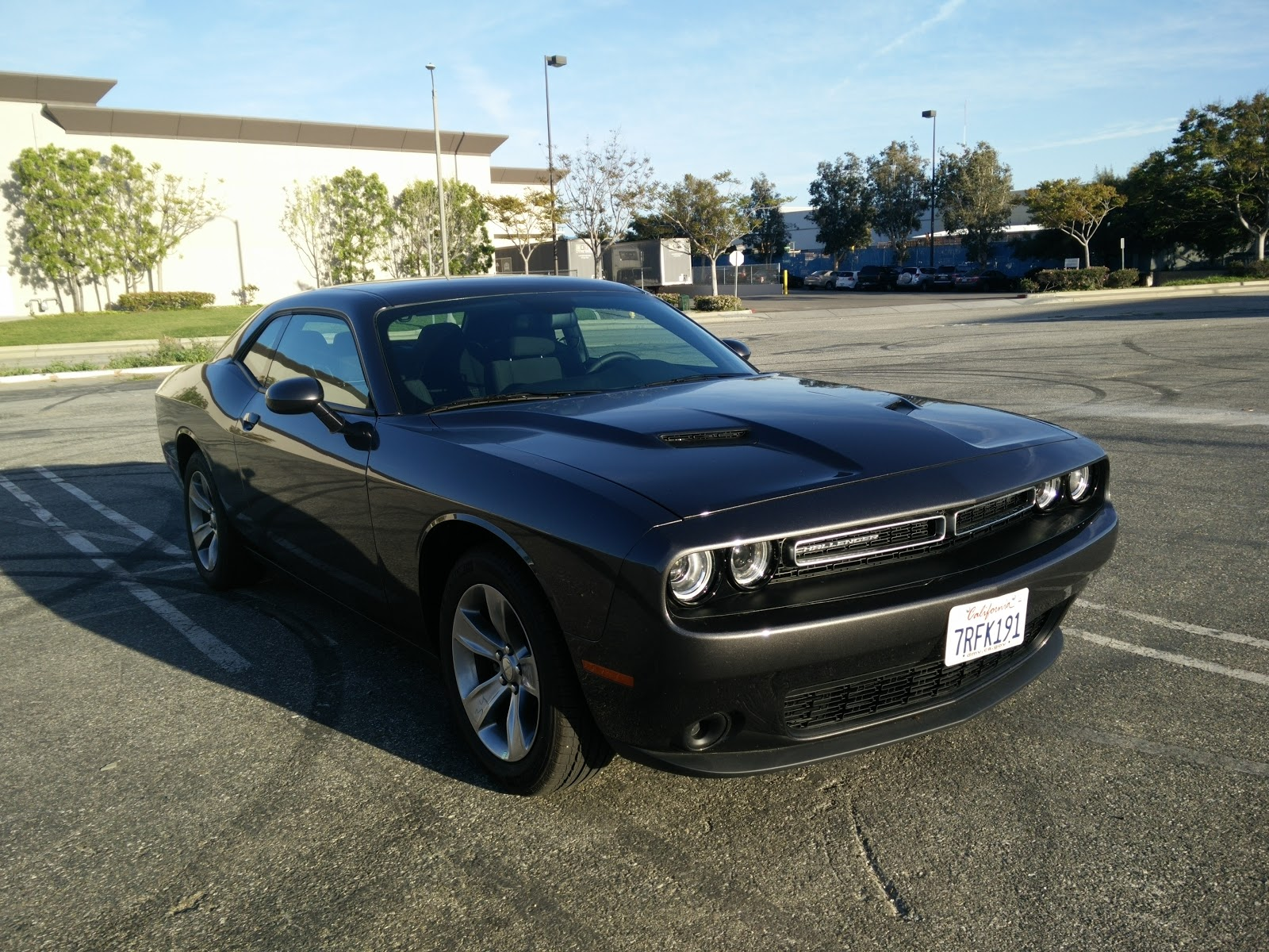 Short Term Test 2016 Dodge Challenger Sxt