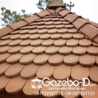 Atap Genteng Sirap Oval Jepara
