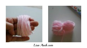 Easy Make LARGE POM POM For Baby Hats