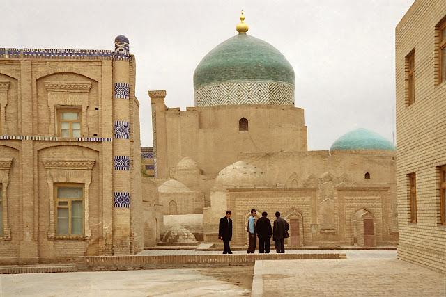 Ouzbékistan, Khiva, Mausolée Pakhlavan Mahmoud, © L. Gigout, 2012