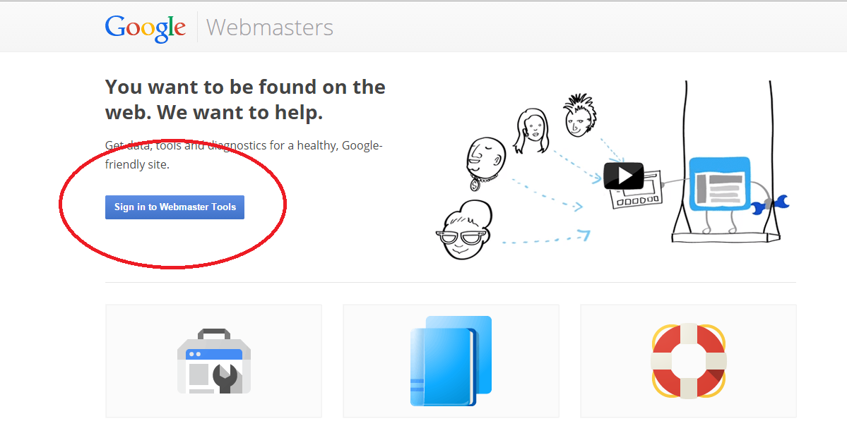How to Add Your Blogger Blog to Google Webmaster ...