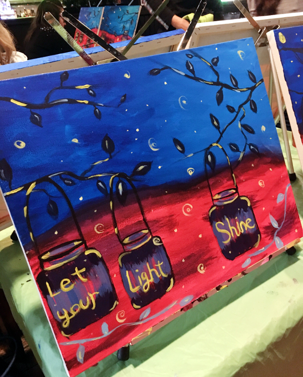 Paint Nite Toronto - Tori's Pretty Things Blog
