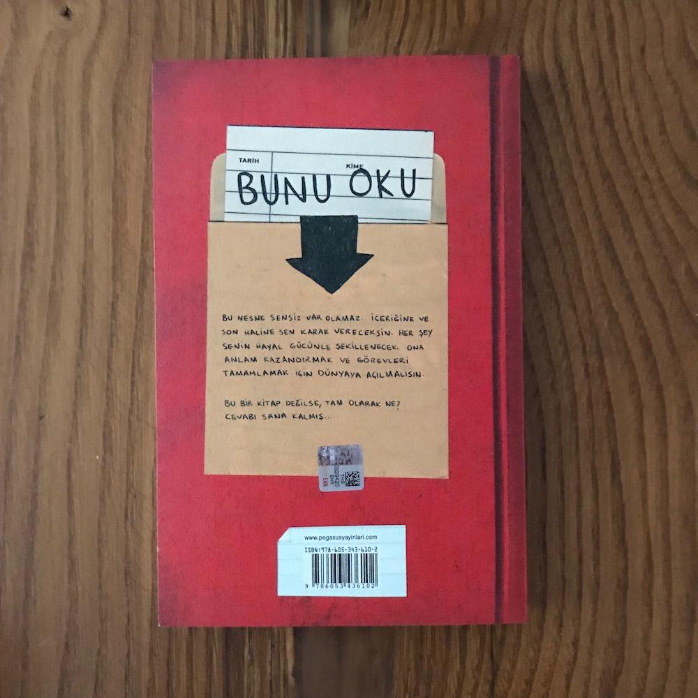 Bu Bir Kitap Degil Keri Smith