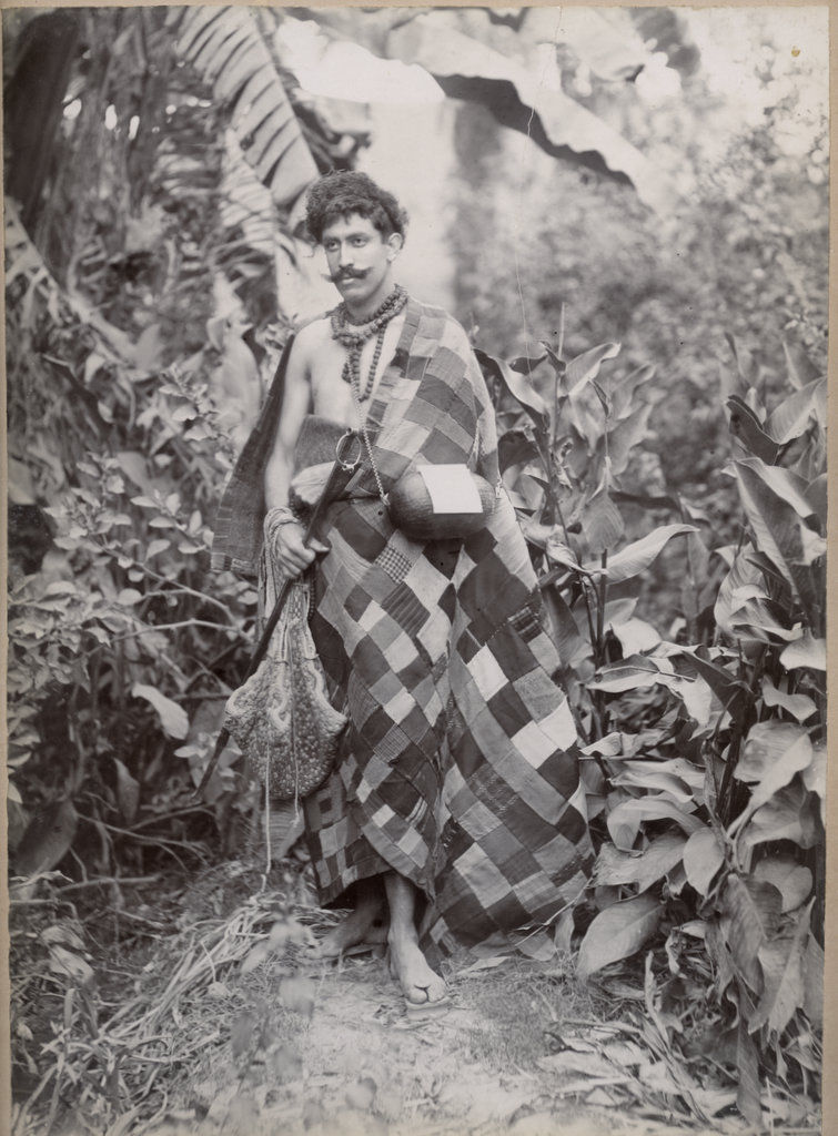 Traveller in Indian Dress - Circa 1890's