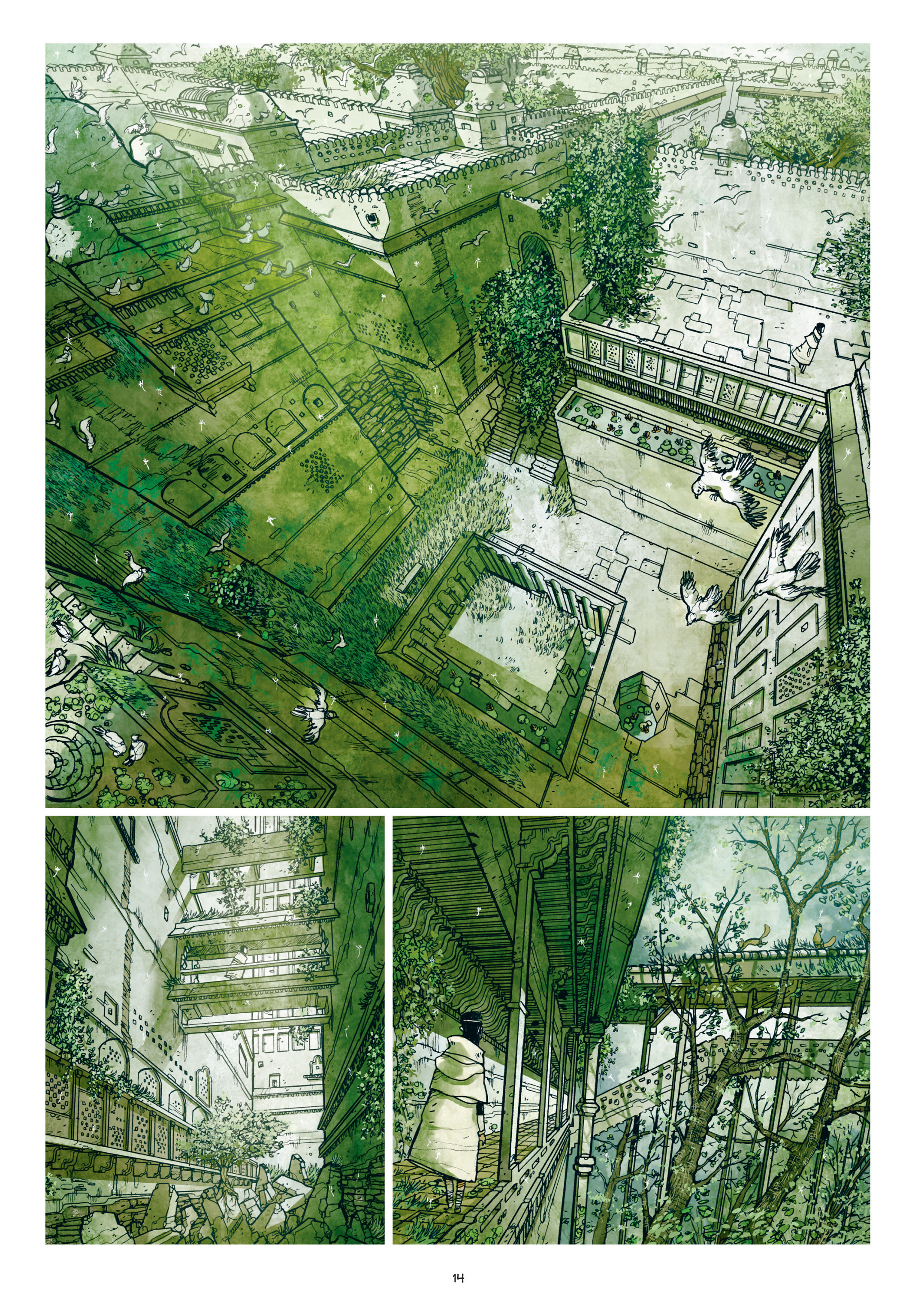 Read online Adrastée comic -  Issue #1 - 15