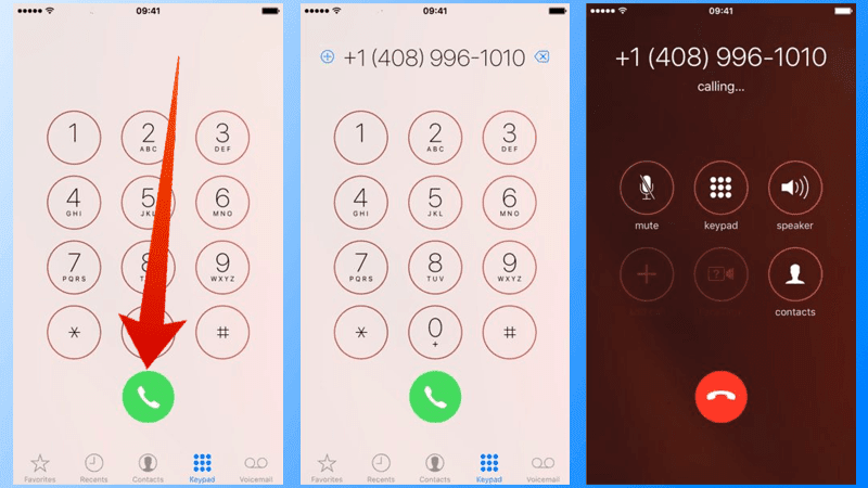 redial last number on iphone