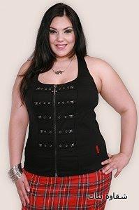 927ac0f842e58 ملابس للبدينات -ملابس للجسم الممتلئ 2012