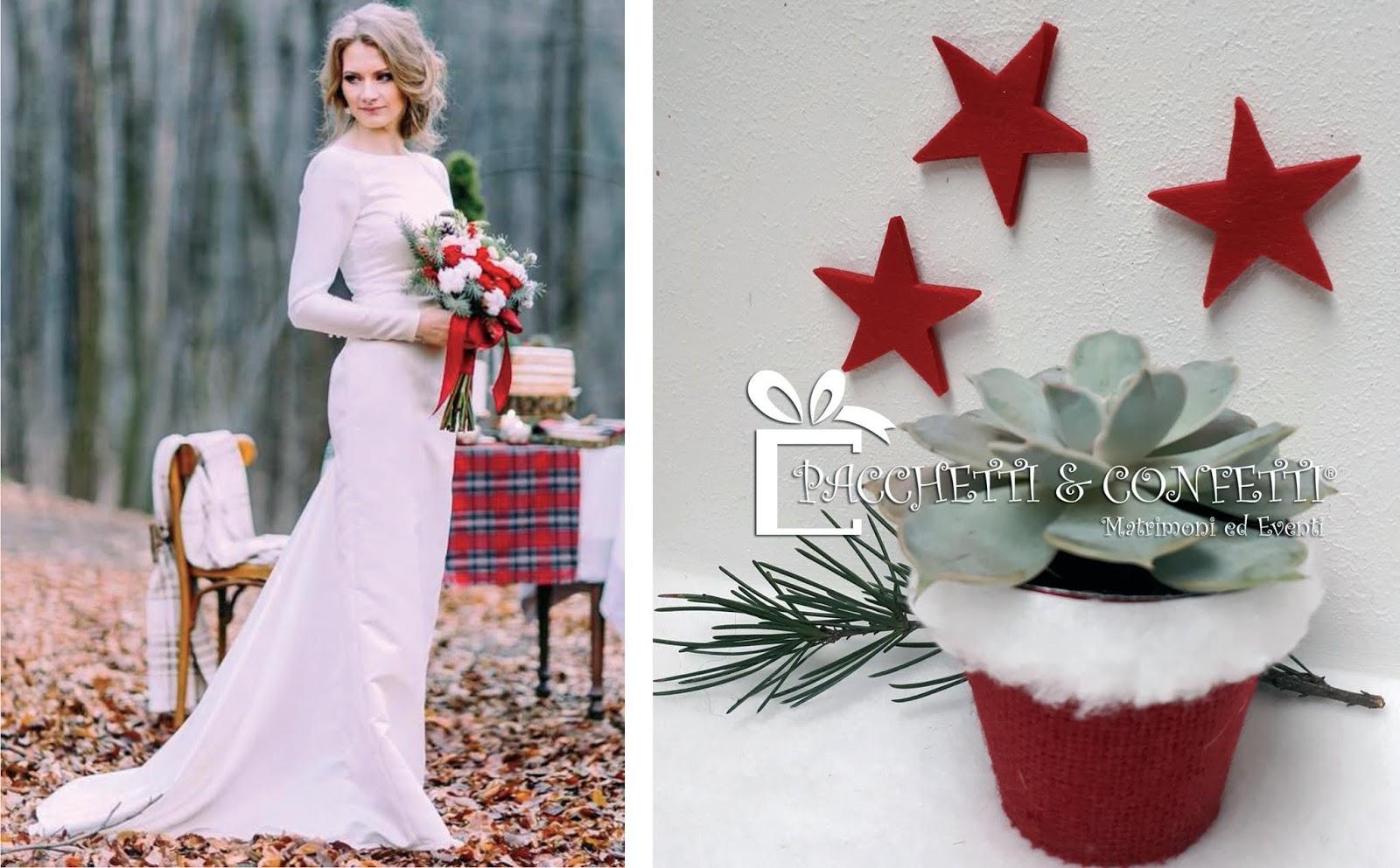 Bomboniere Natalizie Matrimonio.Pacchetti E Confetti Matrimonio A Natale Bomboniere E Ispirazioni