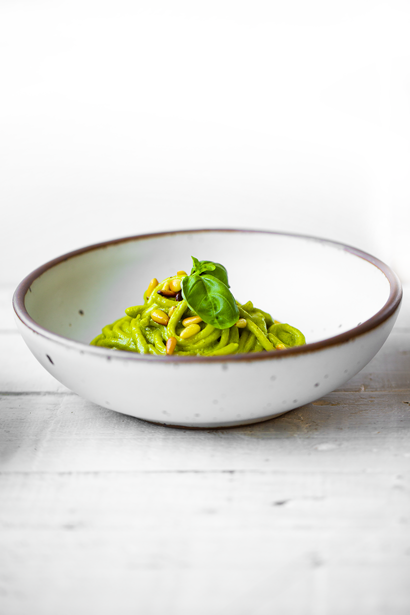 pesto in a bowl