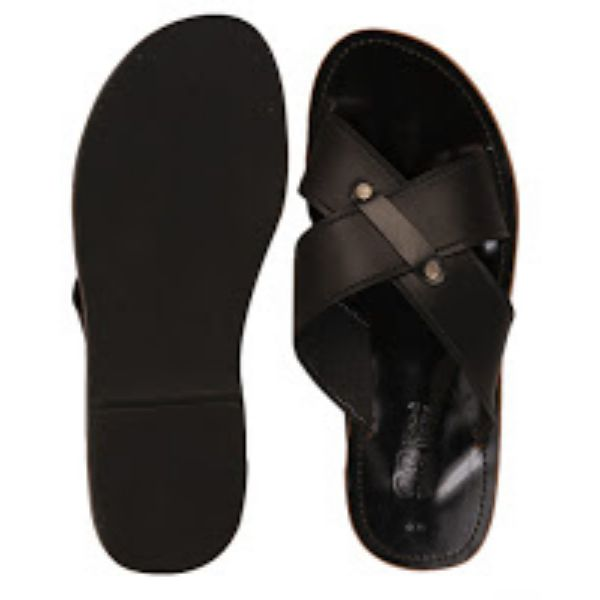 Men Casual Leather Slippers