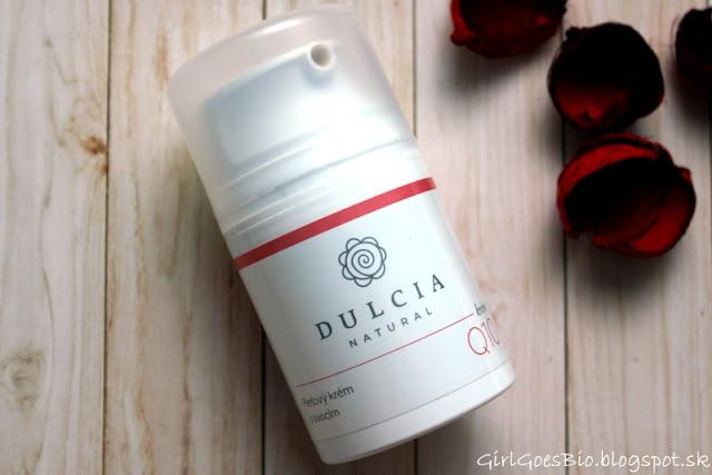 Dulcia natural pletovy krem s ovocim a koenzymom Q10