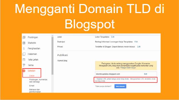 Cara Mengganti Domain TLD