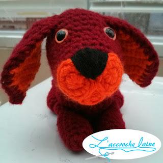 L'accroche laine - Jack le petit chien