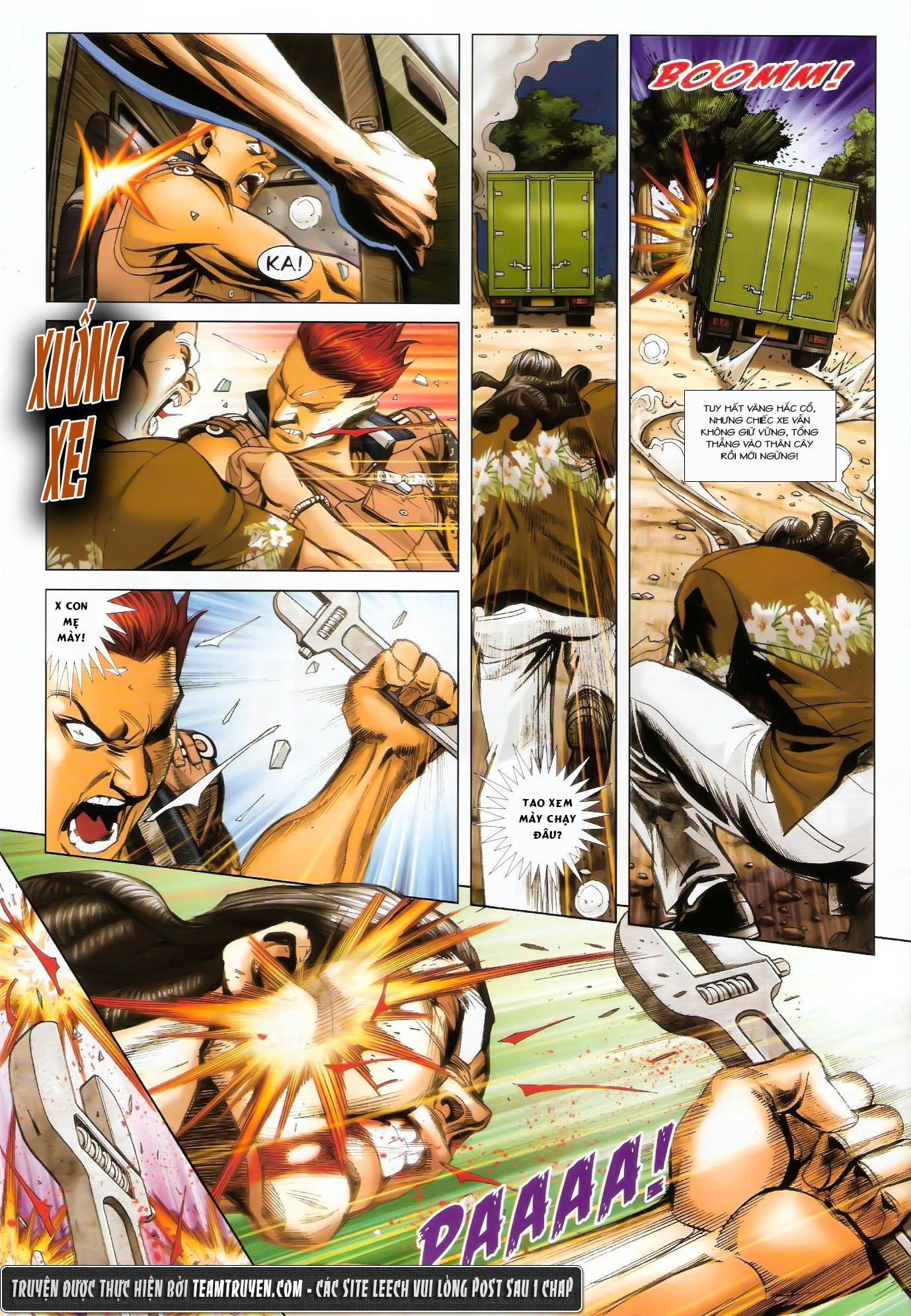 Người Trong Giang Hồ NetTruyen chap 1431 - Trang 11