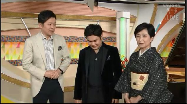 nobuyuki tsujii on nhk studio park tv show september 28 2016