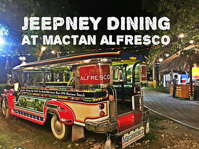 Mactan Alfresco Jeepney Dining Experience Mactan Newtown Lapu-Lapu City Cebu