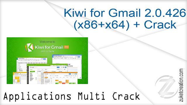 Kiwi for Gmail 2.0.426 (x86+x64) + Crack
