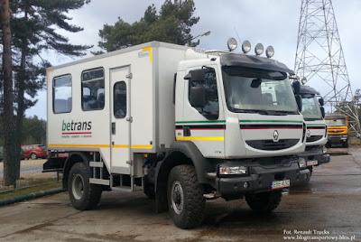 Renaulty Midlum 270.12 4x4 osinobus